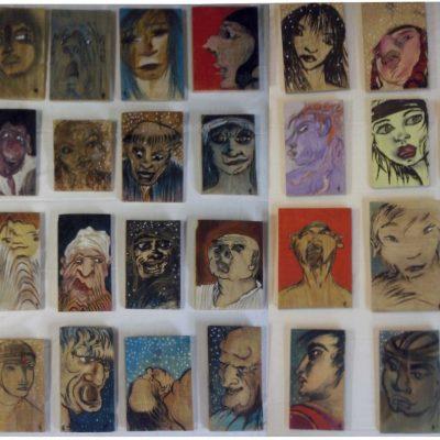 """""""32 vues de visages"""" © Valka"""